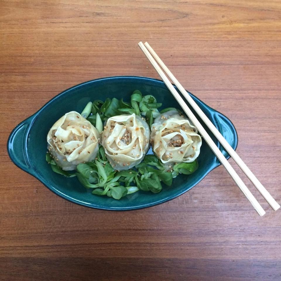 gyoza roses 3